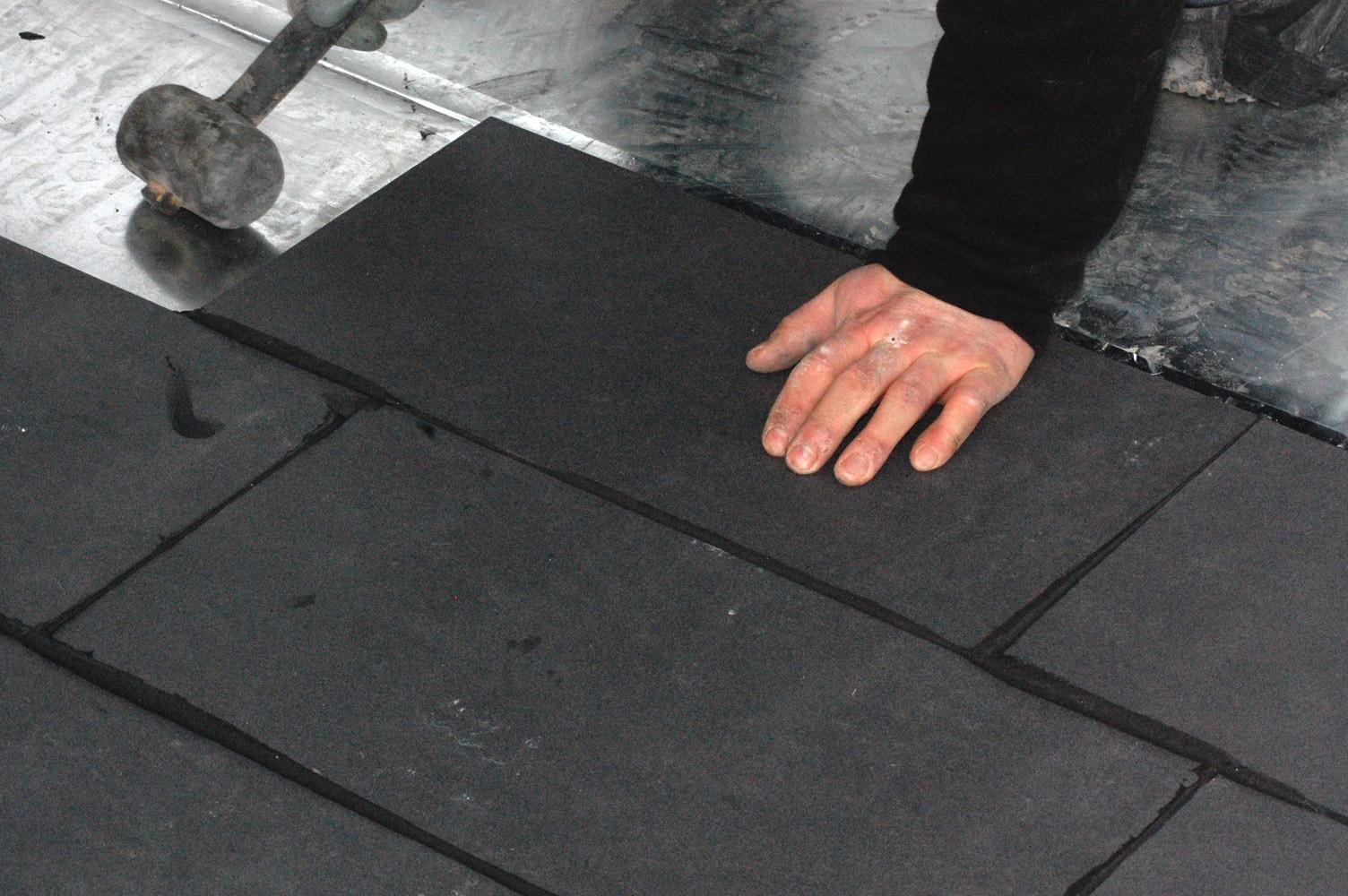 Sistema radiante innovativo ecologico a secco eco dry con - Posare parquet flottante su piastrelle ...