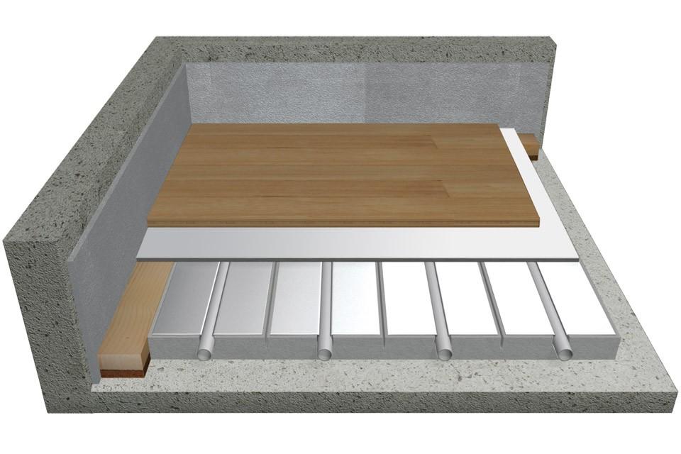 Soluzione per legno o laminato a posa flottante